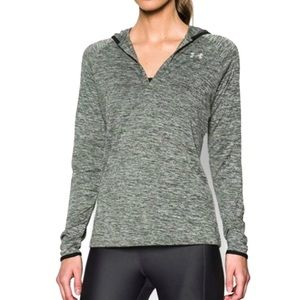 Under Armour Hooded Tech Long-sleeve — green